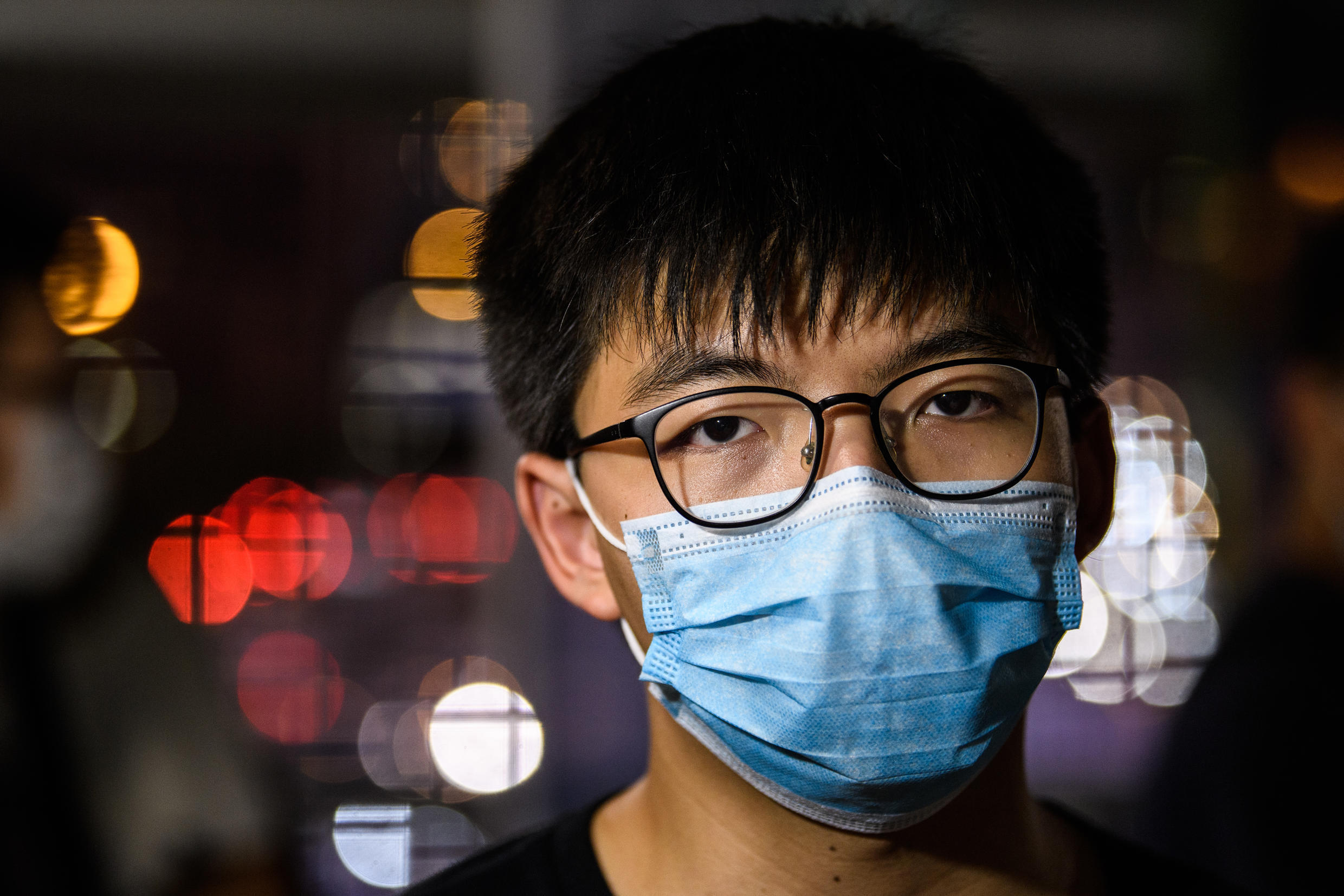 Joshua Wong has already spent time in prison for leading Hong Kong democracy protests and has said he is prepared for more time behind bars