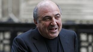 Russian oligarch Boris Berezovsky arrives at a division of the High Court in London January 17, 2012