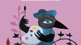 Cartaz da peça Le Mystère des Couleurs de Da Silva
