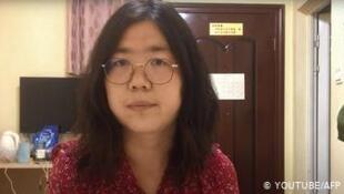 因報道武漢疫情而被判重刑的公民記者張展