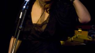 Agnès Jaoui au studio 136