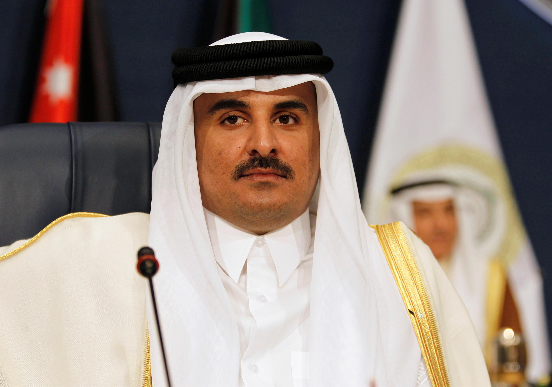 Lãnh đạo Qatar Sheikh Tamim bin Hamad al-Thani. Ảnh chụp ngày 25/03/2017.