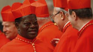Le cardinal Laurent Monsengwo, en novembre 2010, au Vatican.