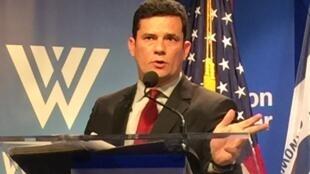 Em Washington, Sérgio Moro fala sobre corrupção no Brasil.