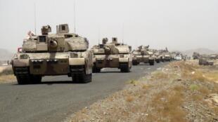 Des chars Leclerc ont été utilisés au Yémen.