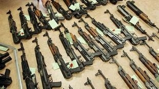 میلیونها قبضه سلاح کلاشنیکف در جهان پخش شده است