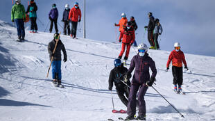 In Switzerland, the winter ski season is well underway