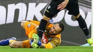 Mai tsaron ragar kungiyar Napoli David Ospina