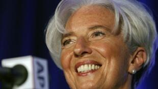 Christine Lagarde, diretora do Fundo Monetário Internacional, disse estar determinada a arrecadar 400 bilhões de dólares ainda esta semana.