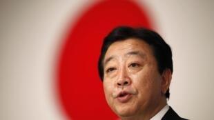 Japan's new  prime minister Yoshihiko Noda 