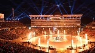 La cérémonie de clôture s'est déroulée dans le Stade olympique de Pyeongchang tout comme la cérémonie d'ouverture des JO, ce dimanche 25 février 2017 en Corée du Sud.