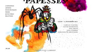 L'exposition «Les Papesses» se tiendra jusqu'au 11 novembre 2013 à Avignon. (Photo: capture d'écran du site internet de l'exposition «Les Papesses»).
