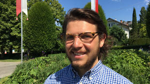 Maxime Billen, jeune entrepreneur.
