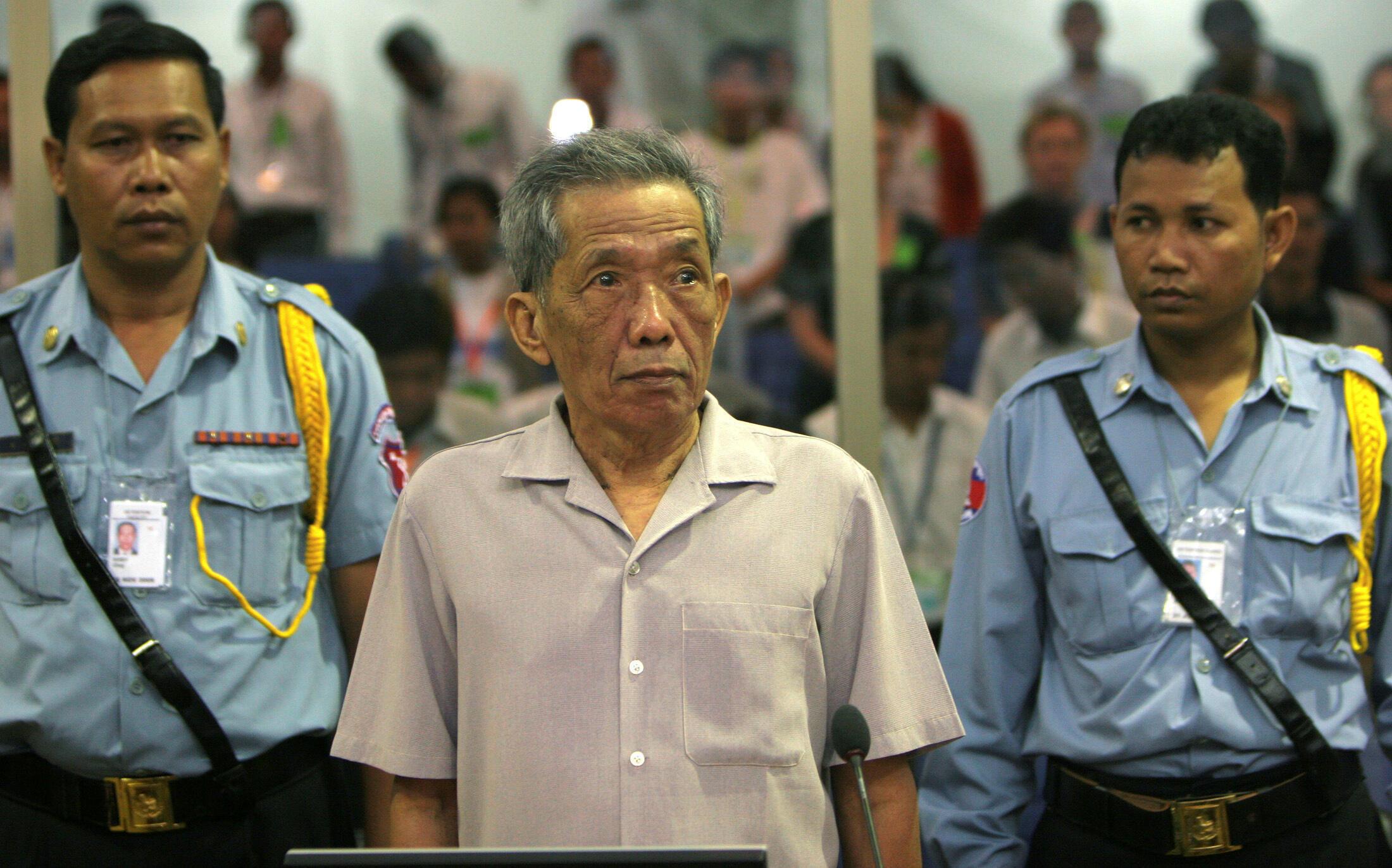 Kaing Guek Eav, alias Duch, en décembre 2008.