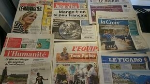 Diários franceses 23/07/2015