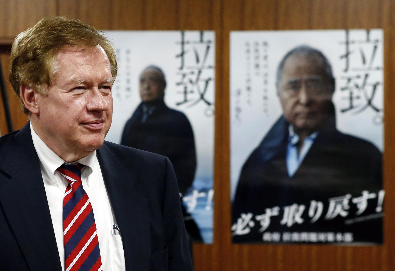 Đặc sứ Mỹ về nhân quyền Robert King chuẩn bị đến Bình Nhưỡng - REUTERS /Issei Kato