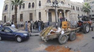 Tashar Jirgin kasa al-Hijaz da aka kai hari a birnin Damascus  inda a kashe mutane 8