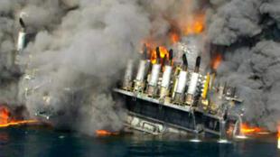 Взрыв нефтяной платформы Deepwater Horizon 20 апреля 2010 года