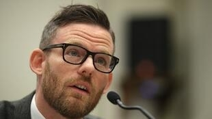 Tổng giám đốc Fortify Rights, ông Matthew Smith, trong cuộc điều trần về vấn đề người Rohingya trước Ủy ban Nhân quyền ở Washington ngày 17/03/2017.