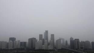 Le centre financier de Pékin.