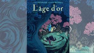 La couverture de la bande dessine «l'Age d'or» de Roxanne Moreil et Cyril Pedrosa.