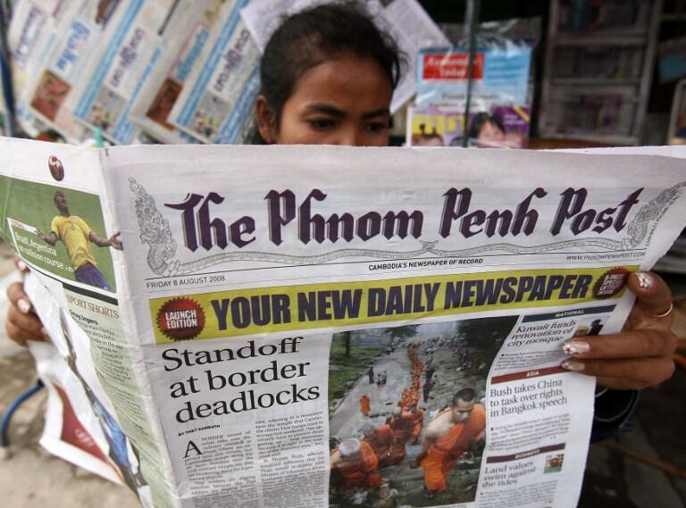 Le «Phnom Penh Post» va changer de propriétaire.