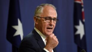 Thủ tướng Úc mãn nhiệm Malcolm Turnbull thông báo chiến thắng trong cuộc bầu cử quốc hội, ngày 10/07/2016.