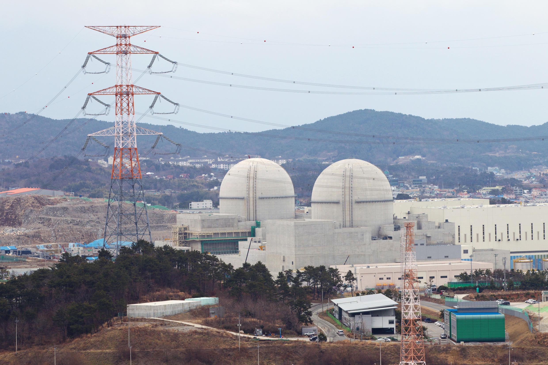 La centrale nucléaire de Kori, en Corée du Sud.