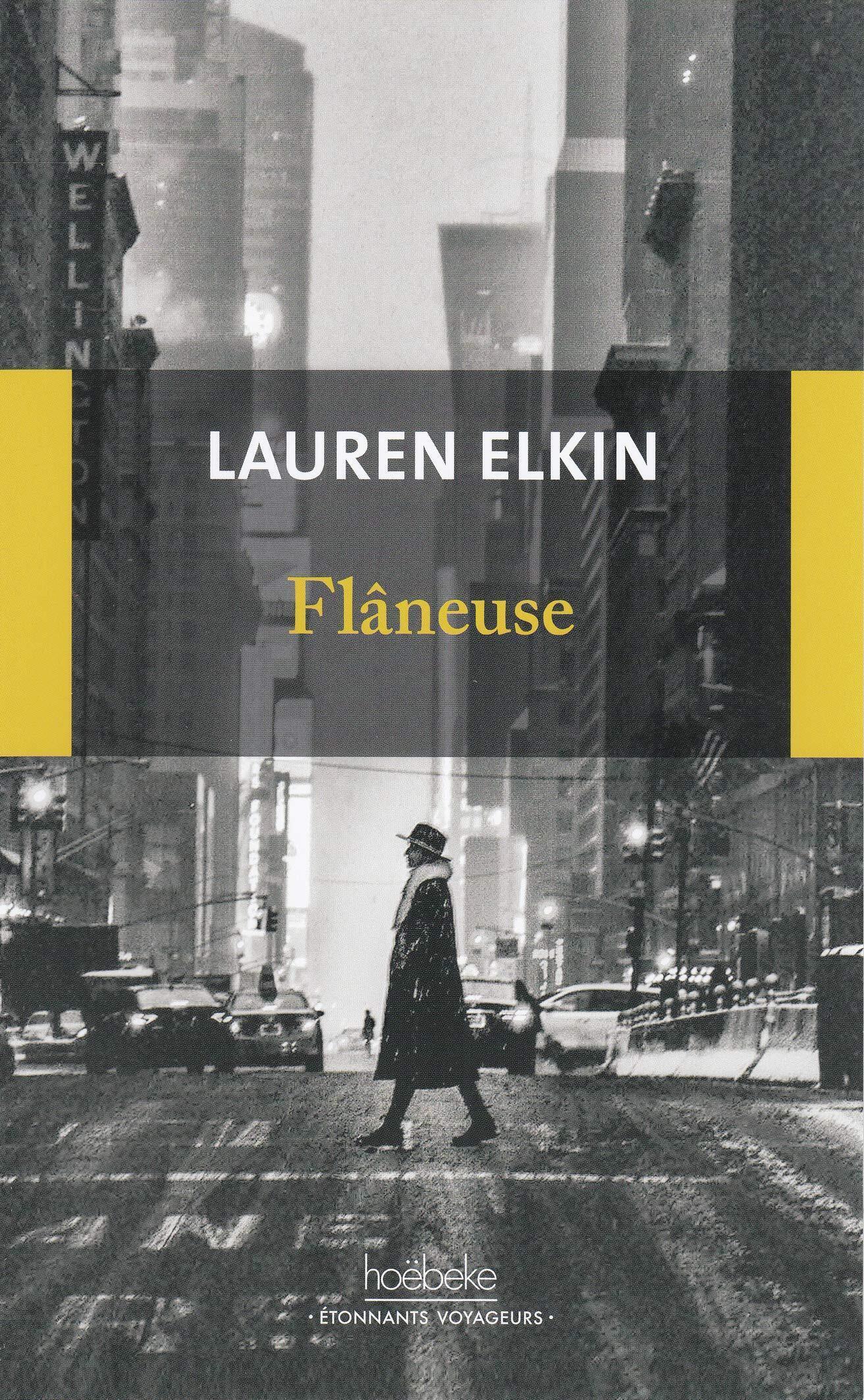Couverture française du livre de Lauren Elkin