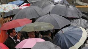 El Festival de Cannes 2013 no escapa a la lluvia.