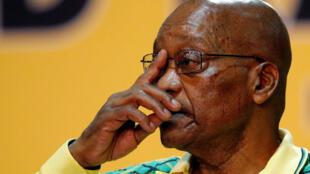 Rais wa Afrika Kusini Jacob Zuma ambaye pia ni kiongozi wa chama cha ANC, 17 Desemba 2017