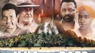 Cartaz do filme A Ilha dos Cães, de Jorge António