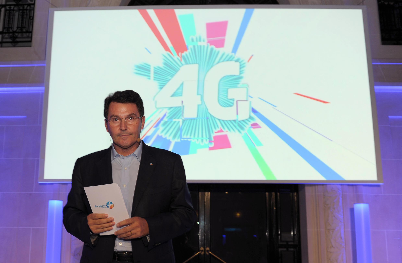 Bouygues Telecom boss Olivier Roussat