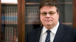 Министр иностранных дел Литвы  Линас Линкявичус  (Linas Antanas Linkevičius)