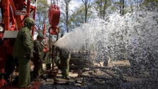 Fracking in Pennsylvania, USA