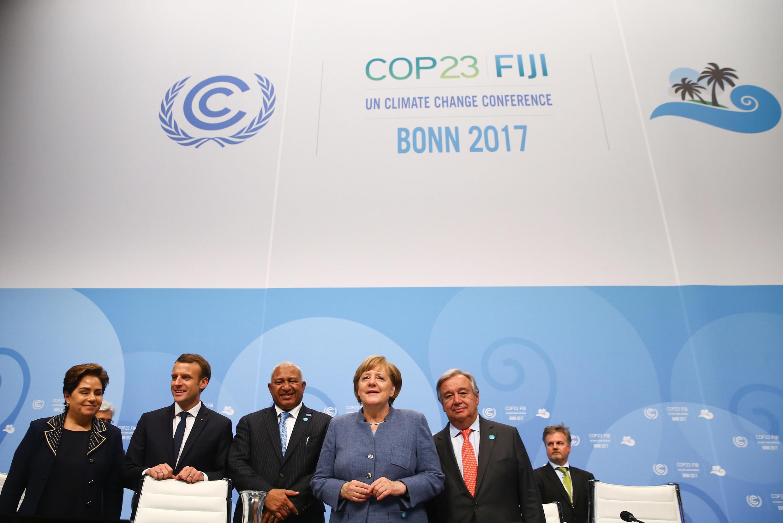 Une vingtaine de pays, dont la France, ont rejoint une coalition pour une sortie du charbon, à Bonn, lors de la COP 23.
