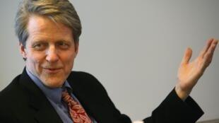 Robert Shiller, docente en la Universidad de Yale y cofundador de MacroMarkets LLC.