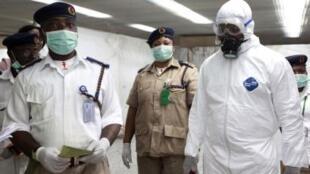 Nigeria Health workers combating Coronavirus