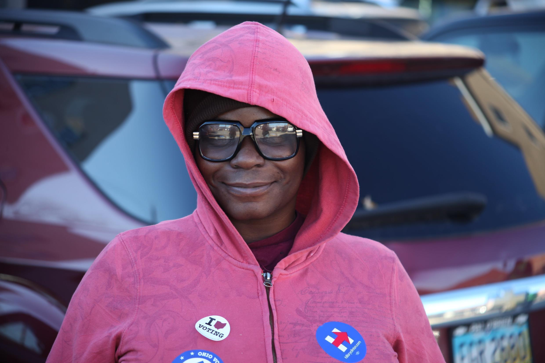 Tessa, a Clinton supporter