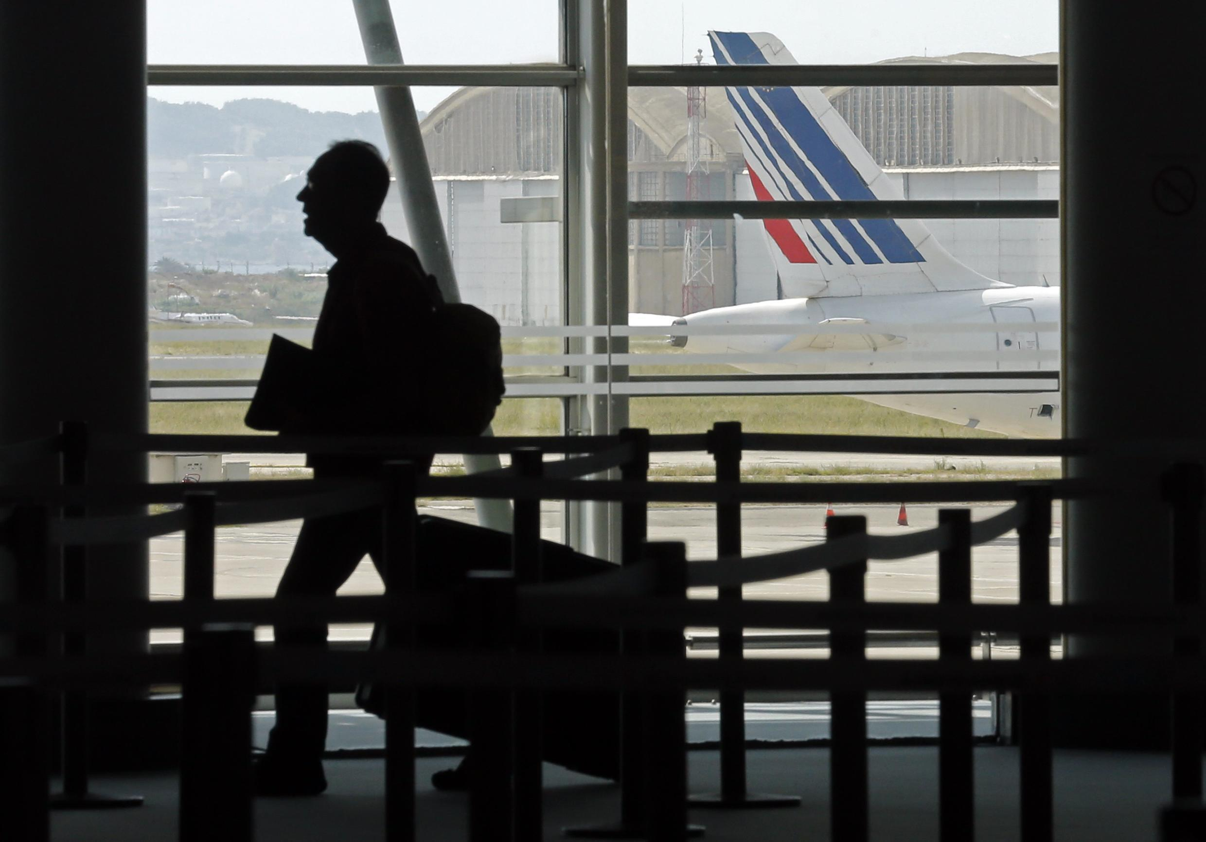 Marseille airport on Friday