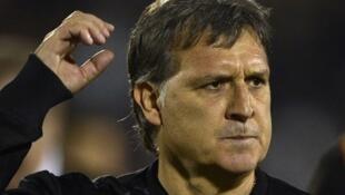 Kocha wa Barcelona Gerardo Martino