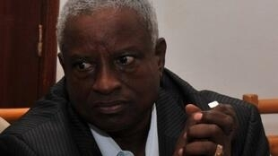 Manuel Serifo Nhamadjo, presidente da república de transição da Guiné-Bissau