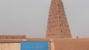 Harabar shiga Masallacin garin Agadez a Nijar