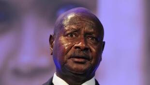 Le président ougandais, Yoweri Museveni.