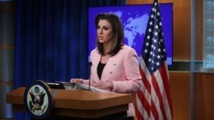 «مورگان اورتگاس» سخنگوی وزارت امور خارجه آمریکا در نشست خبری گفت که تنها راهحل پایان بحران با ایران دستیابی به توافق هستهای جدید با تهران است.