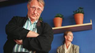 Ingvar Kamprad, fondateur de la multinationale suédoise de meubles Ikea.