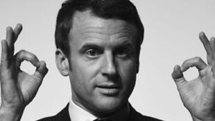 Le président de la République française, Emmanuel Macron.