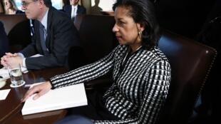 Bà Susan Rice trong cuộc họp tại Nhà Trắng, Washington, 28/11/2012