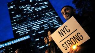Ontem as vítimas do ataque foram homenageadas em Nova Iorque.