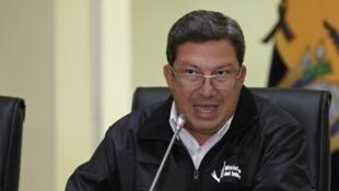 Le ministre équatorien de l'Intérieur César Navas a confirmé ce mardi 17 avril l'enlèvement d'un couple de quadragénaires à la frontière entre l'Equateur et la Colombie.